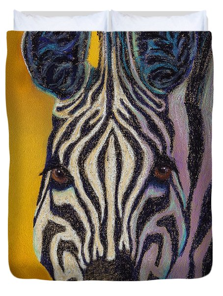 Stare Down Duvet Cover by Tracy L Teeter