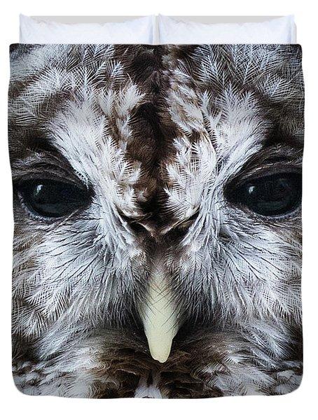 Staredown Duvet Cover