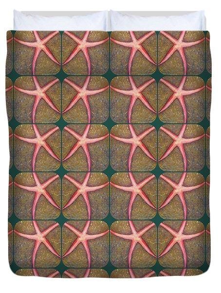 Starfish Pattern Duvet Cover