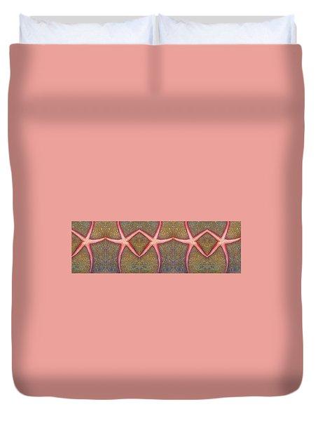 Starfish Pattern Bar Duvet Cover