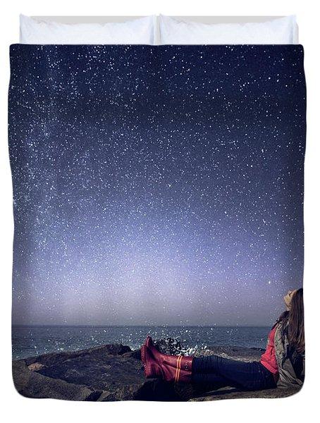 Stargazer Duvet Cover
