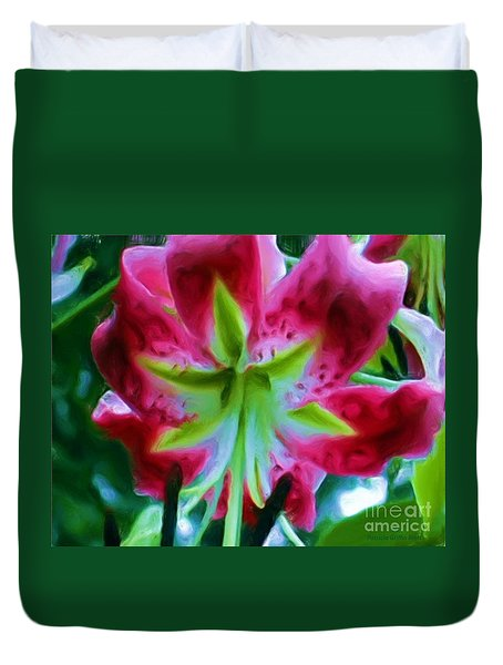 Duvet Cover featuring the photograph Stargazer  by Patricia Griffin Brett