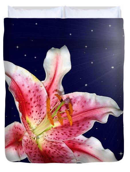 Stargazing Duvet Cover by Kristin Elmquist