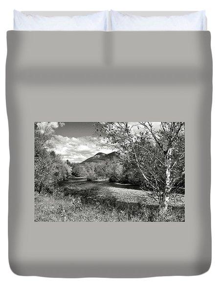 Stark, Nh Back Road  Duvet Cover