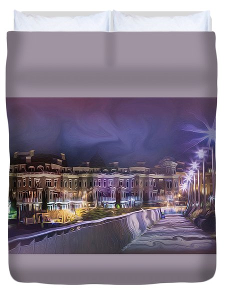 Starless Night Duvet Cover