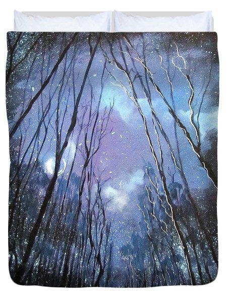 Starlight Duvet Cover by Barbara O'Toole