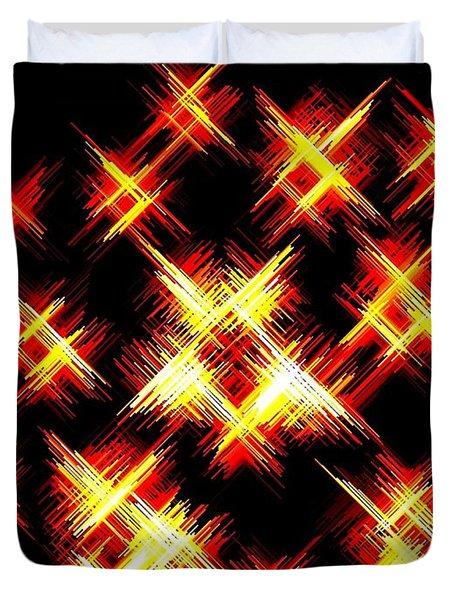 Starlight Duvet Cover by Will Borden