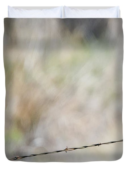 Starling Attack Duvet Cover by Mike Dawson