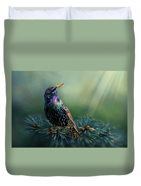 Starling Duvet Cover