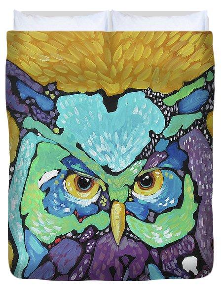 Starry Eyed Duvet Cover