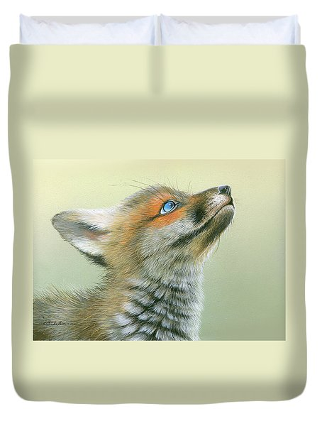 Starry Eyes Duvet Cover