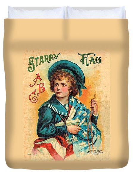 Starry Flag Cover Abc Book Duvet Cover
