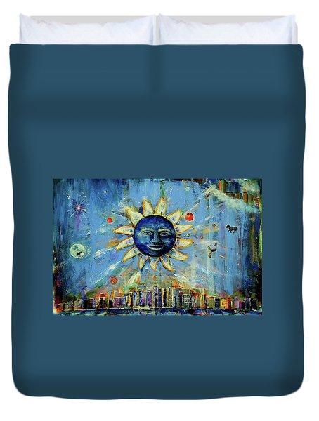 Starry Night 2017 Duvet Cover