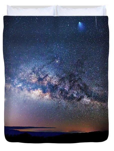 Starry Night Georgian Bay Duvet Cover
