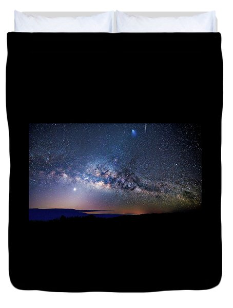 Starry Night Georgian Bay Duvet Cover