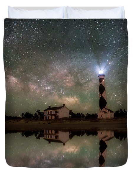 Starry Reflections Duvet Cover