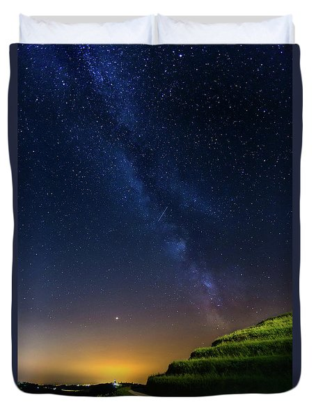 Starry Sky Above Me Duvet Cover