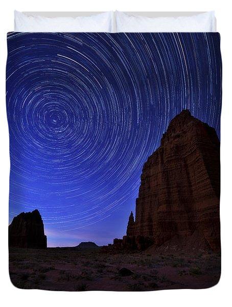 Stars Above The Moon Duvet Cover