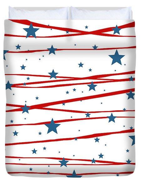 Stars And Stripes Duvet Cover