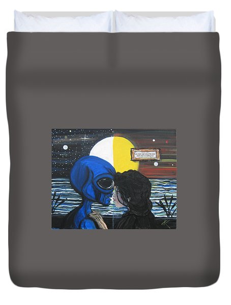 Stars Are Setting Suns Duvet Cover