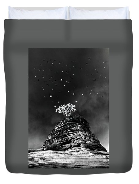 Stars At Night Duvet Cover