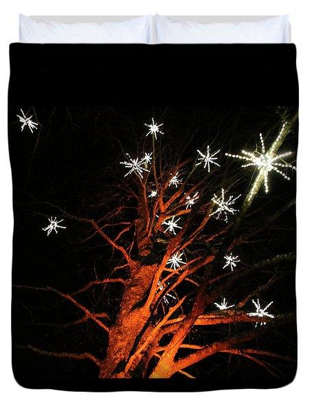 Stars In The Tree Duvet Cover