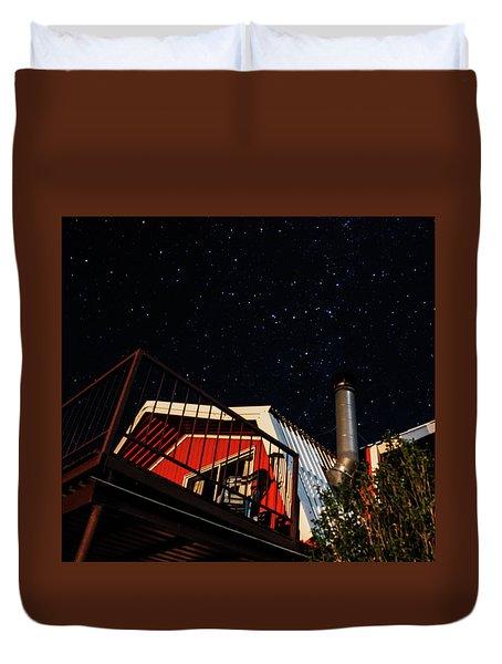 Stars Over Gila Cottage Duvet Cover