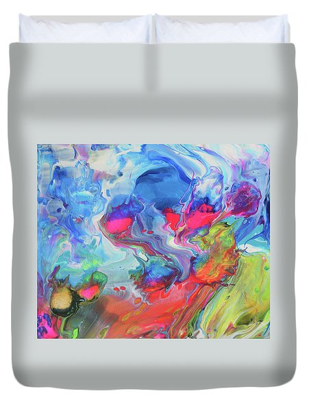 Starty Anywhere Now Duvet Cover