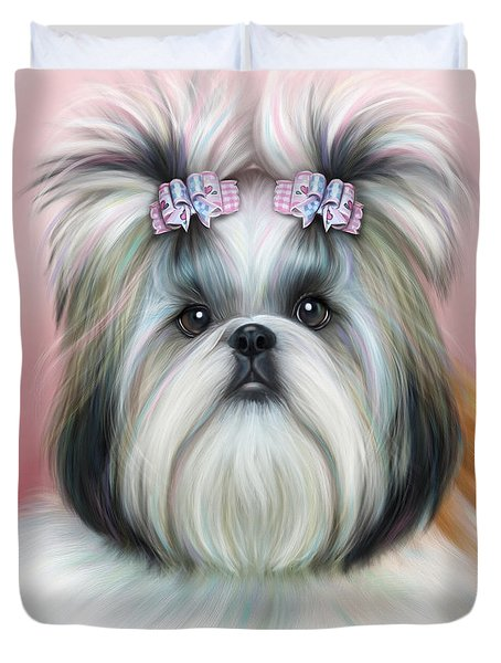 Stassi The Tzu Duvet Cover
