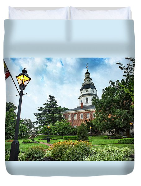 State Capitol Duvet Cover