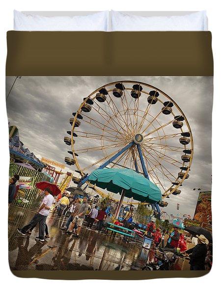 State Fair Of Oklahoma II Duvet Cover