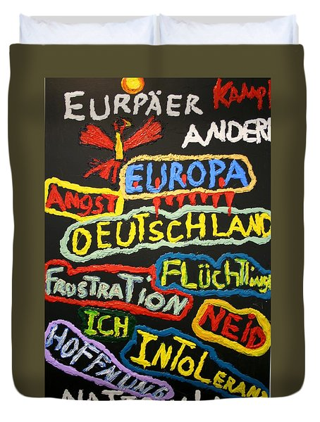State Of Europe Duvet Cover by Darrell Black