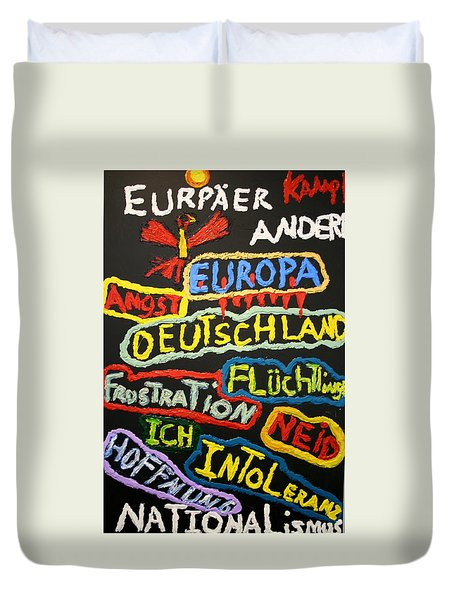 State Of Europe Duvet Cover