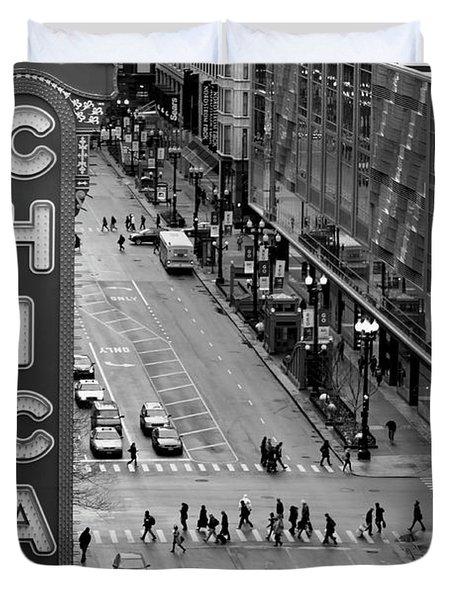 State Street Duvet Cover by Lauri Novak