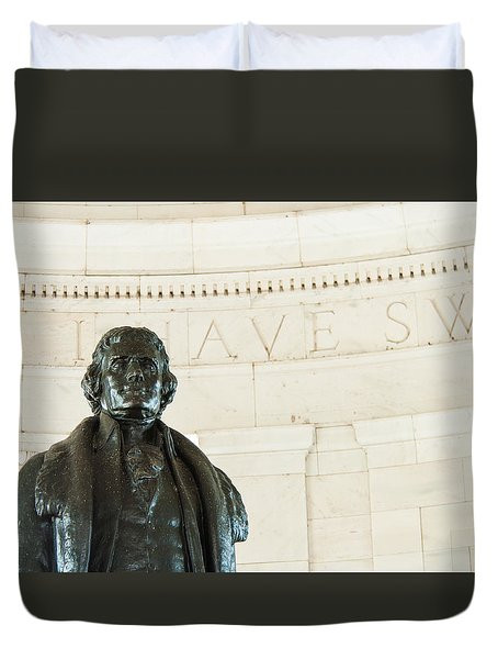 Stately Profile Duvet Cover