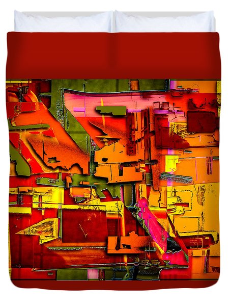 Industrial Autumn Duvet Cover by Don Gradner