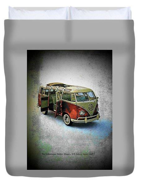 Station Wagon Duvet Cover