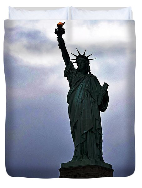 Statue Of Liberty May 2016 Duvet Cover