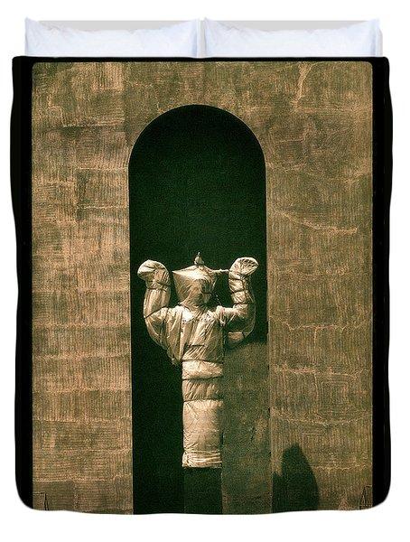 Statues Individual #1 Duvet Cover