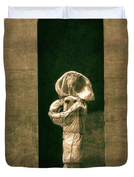 Statues Individual #2 Duvet Cover