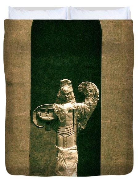 Statues Individual #3 Duvet Cover