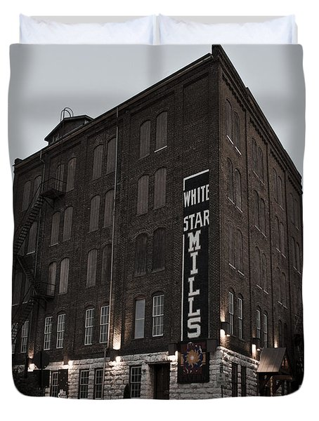 Staunton Mill Street Bar And Grill Duvet Cover