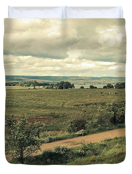 Stausee Kelbra  #nature  #flowers Duvet Cover