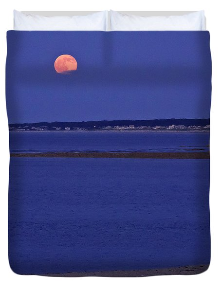 Stawberry Moon Duvet Cover