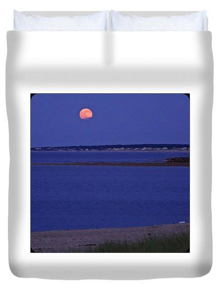 Stawberry Moon Duvet Cover
