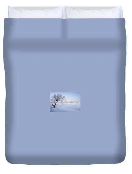 Stay A While Duvet Cover