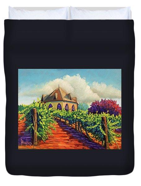 Ste Chappelle Winery Duvet Cover
