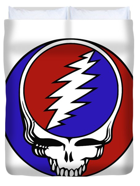 Steal Your Face Duvet Cover