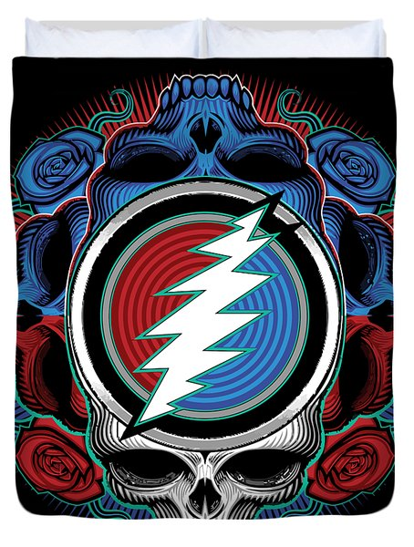 Steal Your Face - Ilustration Duvet Cover