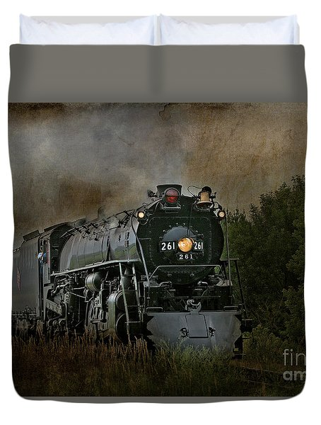 Steam Engine 261 Duvet Cover